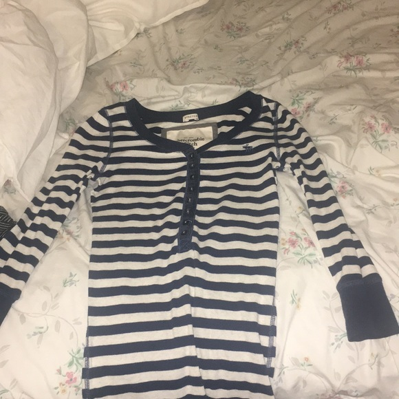 Abercrombie & Fitch Tops - long sleeve striped Abercrombie & Fitch shirt